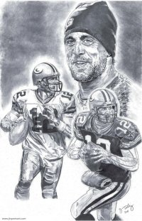 Aaron Rodgers Coloring Page Paper